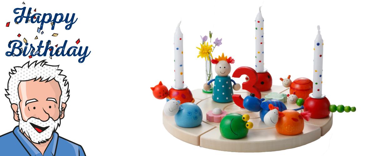 Geburtstagstischdeko