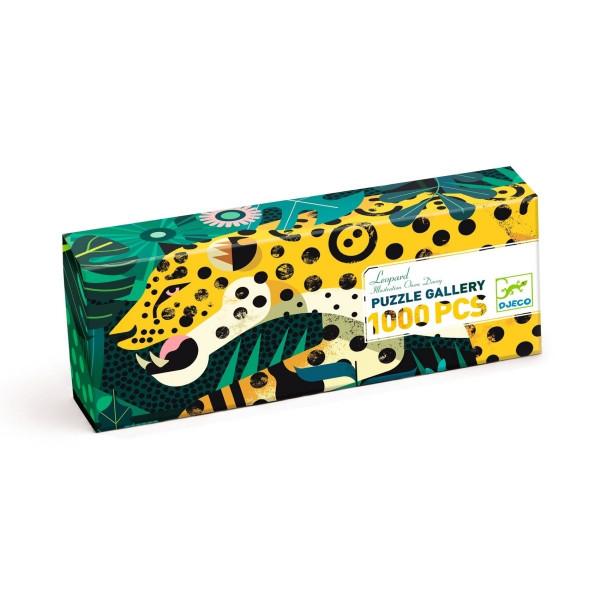 DJ07645-Puzzle-Gallerie-Leopard-1000-Teile-2