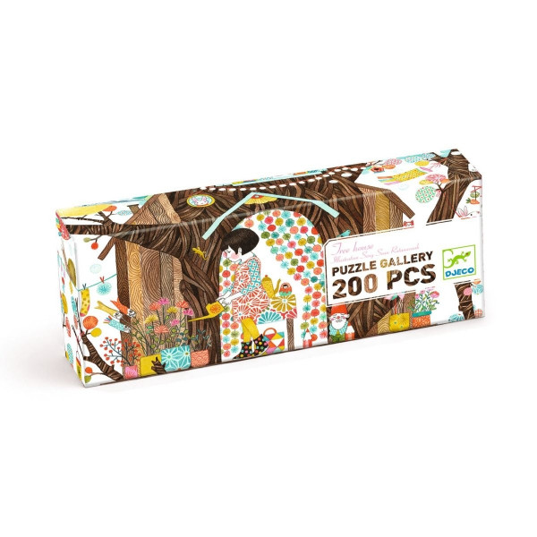 DJ07641-Puzzle-Gallerie-Das-Baumhaus-200-Teile-2